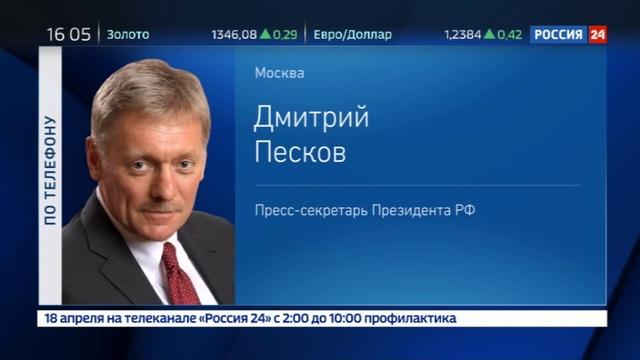 Новости на Россия 24 Песков санкции США это экономическое рейдерство