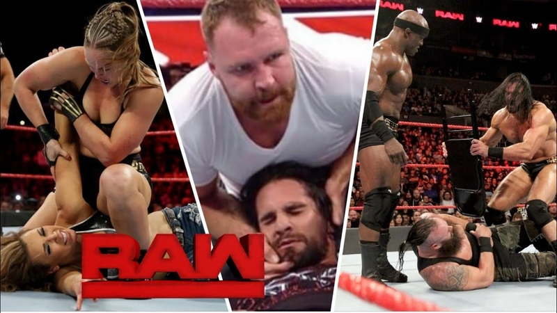WWE Monday Night Raw 19 November 2018 Highlights : WWE Raw 19/11/18 Highlights - WWE Raw Highlights