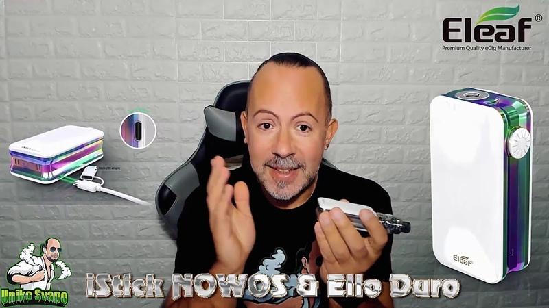 Il migliore starter kit 2018 iStick Nowos Ello Duro by Eleaf UnikoSvapo Recensione 2018