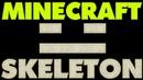 Скелет Лего Брик Хедс Майнкрафт Как сделать лего фигурку Скелета Minecraft Lego BrickHeadz Skeleton