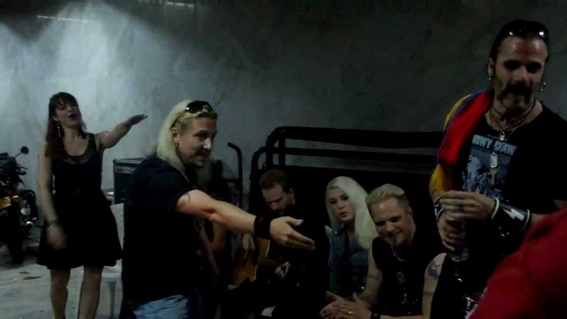 Therion - Lemuria (Meet Greet, Bogotá Colombia) 7/06/2012