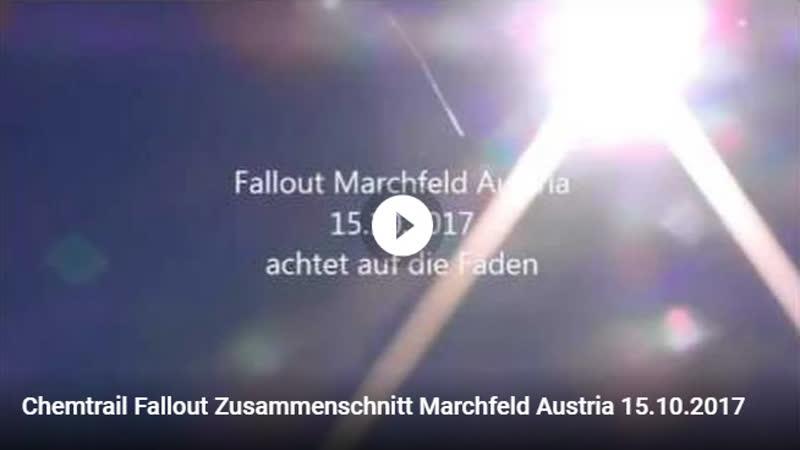 Chemtrail Fallout Zusammenschnitt Marchfeld Austria 15.10.2017