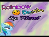 Geometry Dash Rainbow Dash