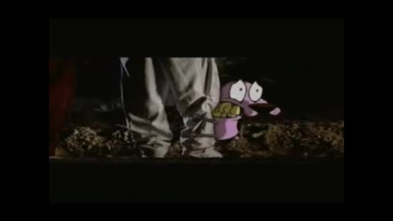 Кураж трусливый пёс / HOOPSHOTS TV - Courage the Cowardly Dog Commercial