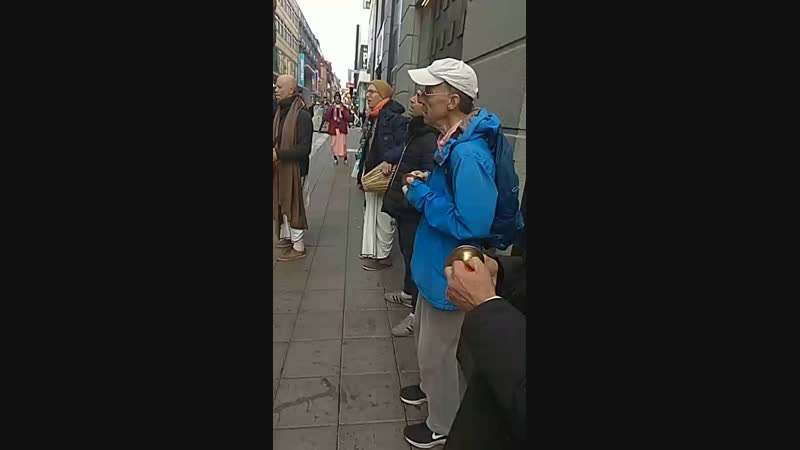 Харинама Санкиртана Ягья, Стокгольм