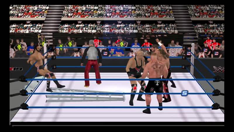 Леснар против Энгла против Майклза против МакИнтайра против Титенка против Сваггера