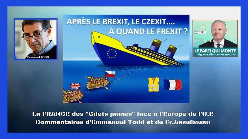 La France des Gilets Jaune face à l'Europe de l'U.E qui nous paralyse... (Hd 720) Remix