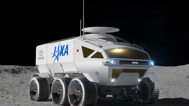 Lunar rover JAXA by Toyota, all-terrain vehicle concept