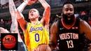 LA Lakers vs Houston Rockets Full Game Highlights   01/19/2019 NBA Season