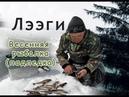 Весенняя рыбалка подледка Сибирский хариус Заряжаем аккумулятор Spring fishing in Yakutia