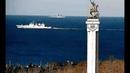 Севастополь Эп 03 Моряки на виражах БПК Североморск показал свои ходовые качества после ремонта 22 02 2019