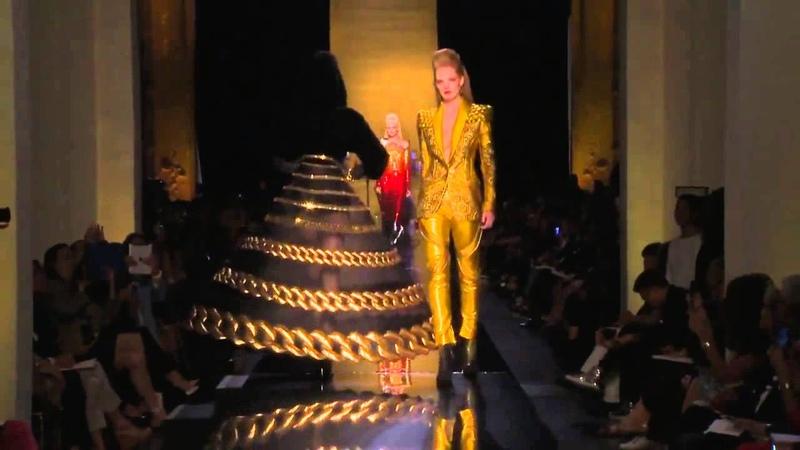 Показ Jean Paul Gaultier 2014-2015 Haute Couture. Сезон осень-зима 2014-2015