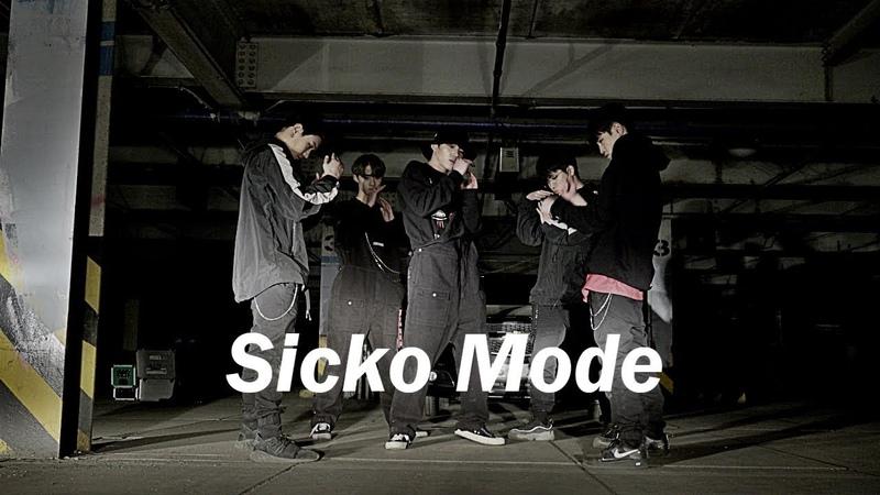 AM 1 00 폐주차장에서 벌어진 일 SICKO MODE Dance Euanflow Choreography
