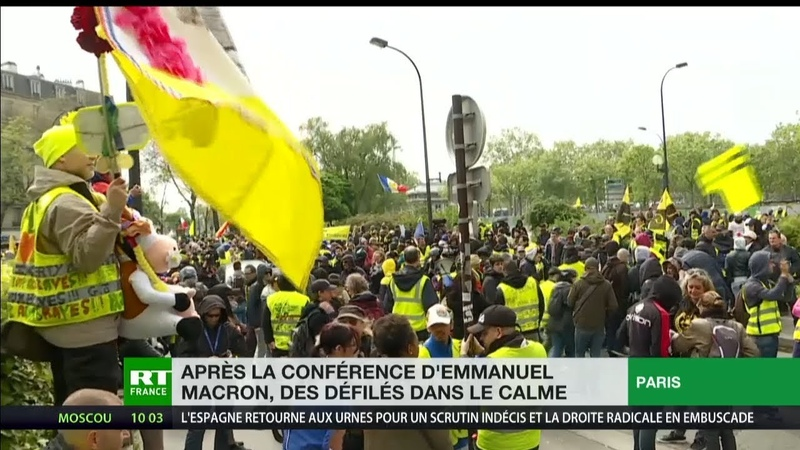 Convergence des luttes marche sur les médias retour sur l'acte 24 des Gilets jaunes à Paris