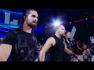 WWE The Shield . 10, 2018