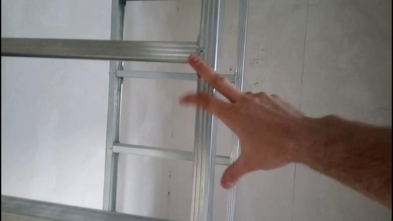 Шкаф-купе из гипсокартона своими руками.(часть 1)