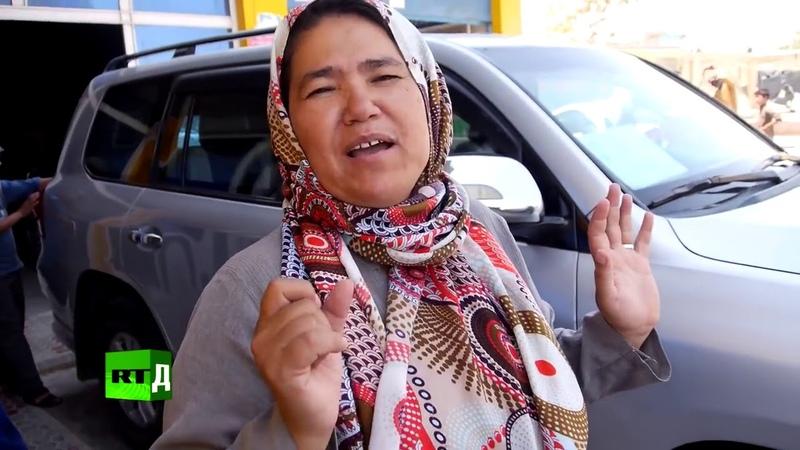 Афганская таксистка.