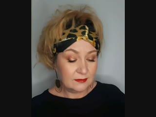 Лифтинг макияж от Яны Старовойтовой