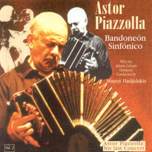 Астор Пьяццолла альбом Bandoneón Sinfónico