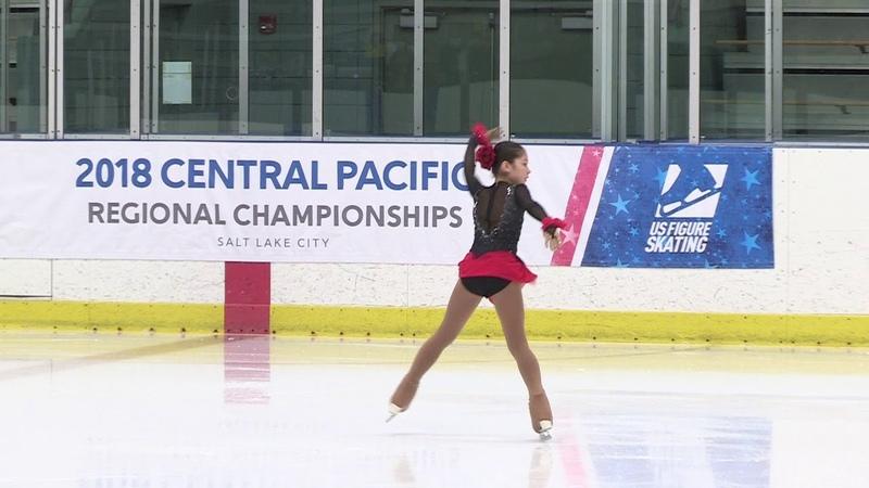 Alysa Liu, 2018 Central Pacific Regional Figure Skating Championship, Junior Ladies Short Program