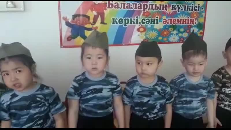 арманчоктин 9майга койган концерти садиктеги