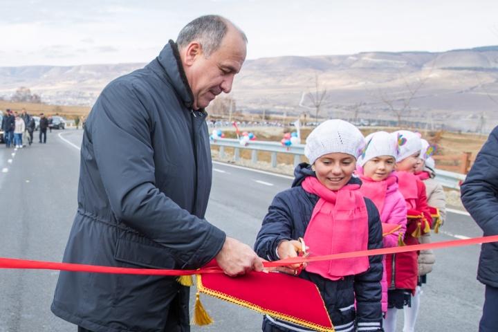 В КЧР открыли новую дорогу к Медовым водопадам