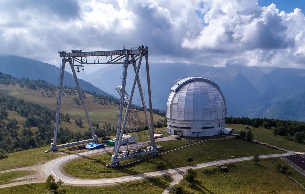 На оптическом телескопе в Нижнем Архызе ученые приступили к тестовым наблюдениям