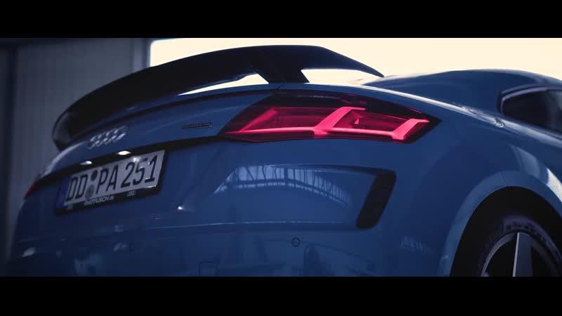 Tesla Model 3 Performance vs Audi TT 2018 vs Model 3 RWD - 1-4 MILE DRAG RACE