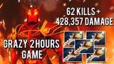 Ember Spirit 62 KILLS EPIC 2 Hour Game 428k Damage Dota 2