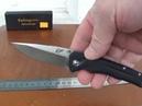 Eafengrow EF41, D2 лезвие, G10 ручка, Флиппер, Тактический, шарикоподшипник, EDC