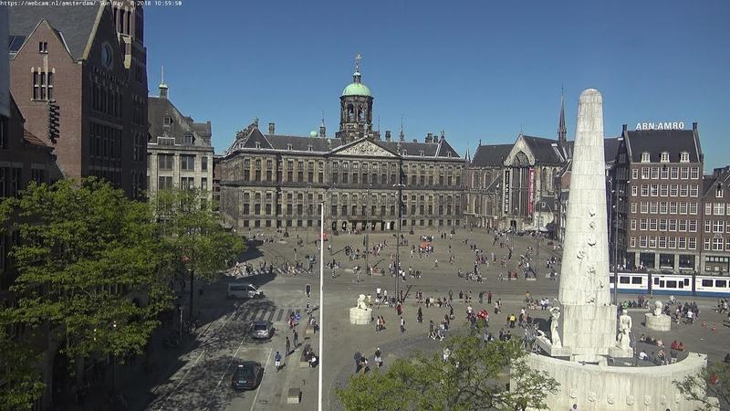 WebCam.NL | www.amsterdam-dam.com - ultraHD 4K PTZ camera.