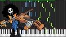 Bink's Sake One Piece Piano Tutorial Synthesia Marco Tornatore