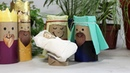 Presépio fácil barato e bonito de Rolinhos de papel Higiênico🌟 Nativity Scene