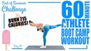 60 Minute Athlete Bootcamp Workout 🔥Burn 715 Calories! 🔥