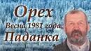 Рассказ Орех. Весна 1981 года. Паданка 1 | Сибирский писатель Валентин Чемякин (Часть 1)