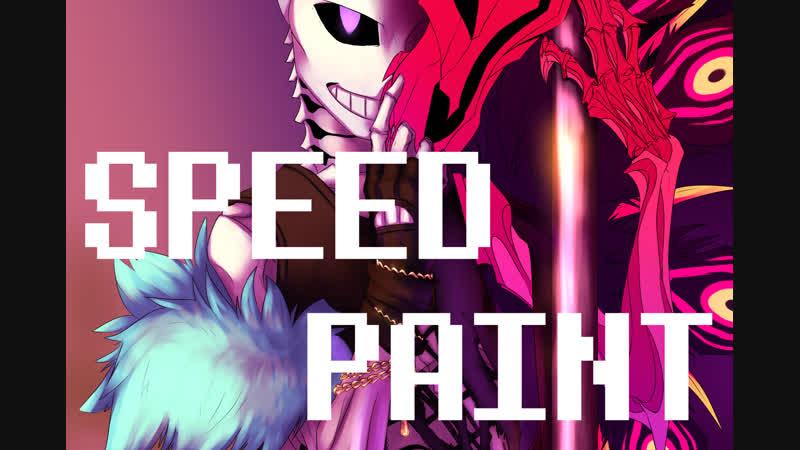 [SpeedPaint]: UnderLust (Undertale AU) - ME!ME!ME!
