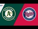 AL / 25.08.18 / OAK Athletics @ MIN Twins (3/4)