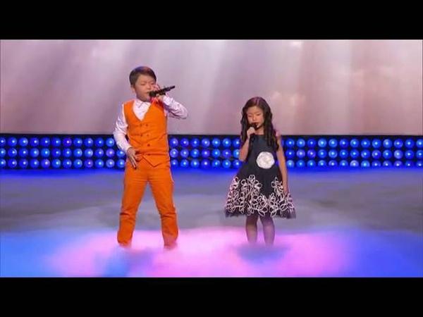 Little Big Shots Amazing Kids Singing Duo Episode Highlight
