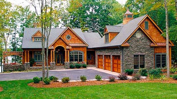 Как выбрать лучший план дома с подъездными путями?