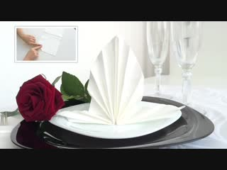 6 Способов Как Сложить Бумажные Салфетки! How to fold napkins.mp4