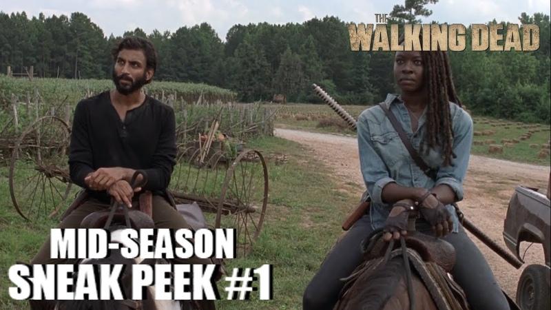 The Walking Dead 9x08 Sneak Peek 1 Evolution Season 9 Episode 08 [HD] MICHONNE ARRIVES IN HILLTOP
