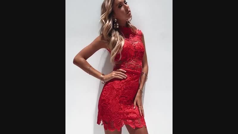 Платье Lace Goddess Австралия
