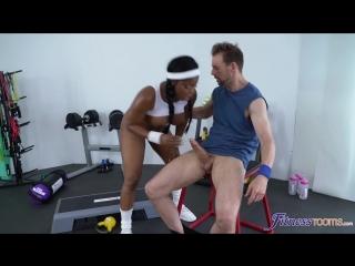 Jasmine Webb порно porno sex секс anal анал минет big tits негритянка брюнетка худая