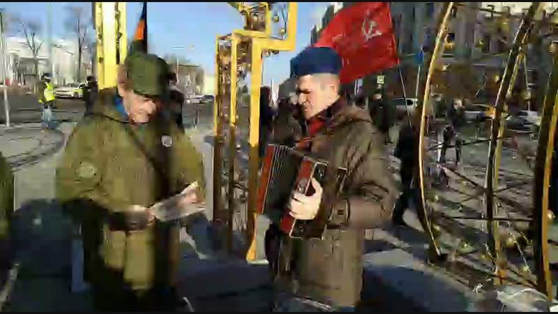 Массовый пикет НОД Тверской бульвар.Поёт вторая эскадрилья.Урааа!