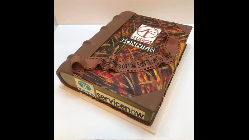 Как сделать торт Книга. / Наша группа в ВК: Торты на заказ. Мировые шедевры.