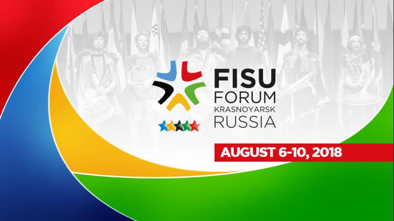 FISU Forum 2018