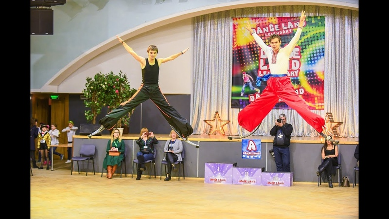 Казаки на Джамперах Ukrainian Jumpers Perfomance