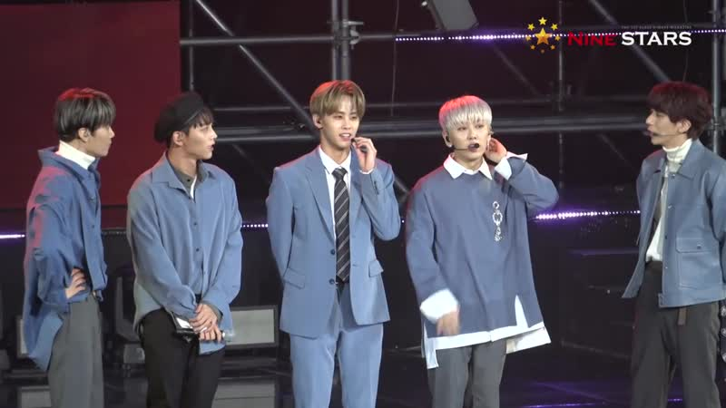 181123 MBN Hero Concert I Hate you TALk Better @Nine STARS official fancam