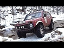 Russian 4X4 SUV NIVA, made in Soviet Union - Extreme off road, my crazy Russian friends
