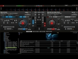 Roman Stalker mixing Inhale &amp Music Rescues Me by PvD in VDJ
